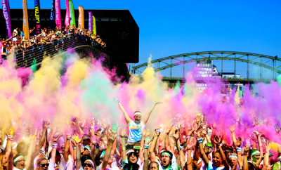 The Color Run erobert Deutschland.