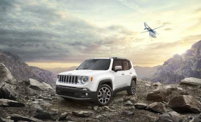 Gewinne den Jeep Renegade.